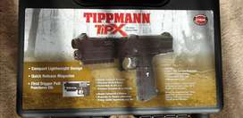 Tippmann Tipx paintball gun.Like new