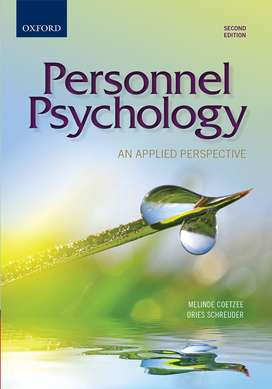 Personnel Psychology second edition