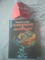 """książka """"Czarnoksiężnik z archipelagu"""" Ursula K. Le Guin"""