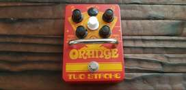 Orange Two Stroke - Boost and EQ Pedal for Bass and Guitar - MINT COND