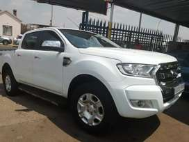 2017 Ford Ranger 3.2 Double cab 4by4 auto