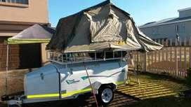 Challenger 7ft camping Trailer