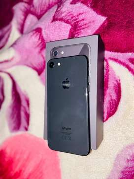 Pre owned iphone 8 space Grey 1 year old still new no scratches