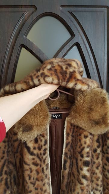 Леопардовая шубка/или обмен Запорожье - изображение 7