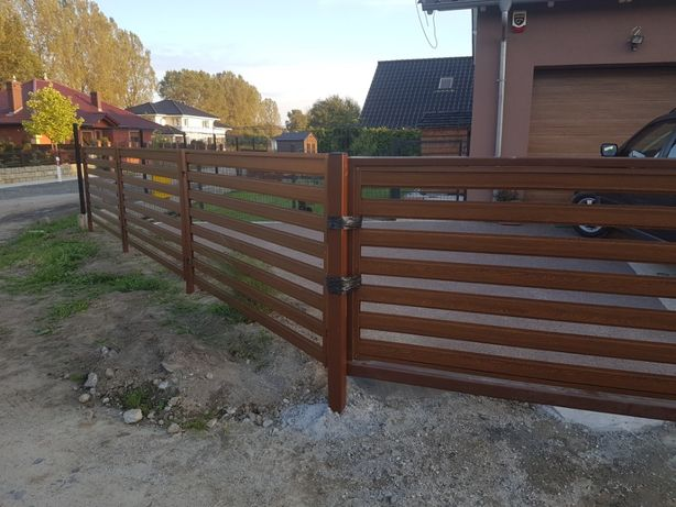 Ogrodzenia nowoczesne brama płoty palisadowe ogrodzenie Częstochowa - image 7