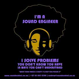 Sound Engineer & Music Services Available