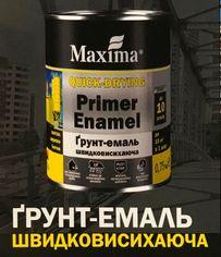 Грунт-эмаль 3 в 1 быстросохнущая Maxima
