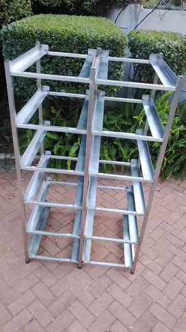 Bakery Cooling Trays Stand. 12-Tier Catering