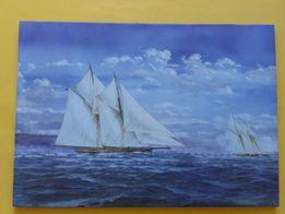 Obraz - żaglowce 40 x 56 cm - marynistyka