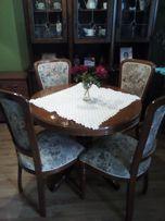 Stół + 4 krzesła.Stan bdb.