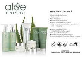 Aloe unique products