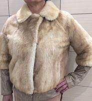 Шуба норковая, курточка норка, куртка із норочки, норковий полушубок,М