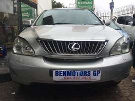 2006 Lexus Engine Rx 300 Automatic