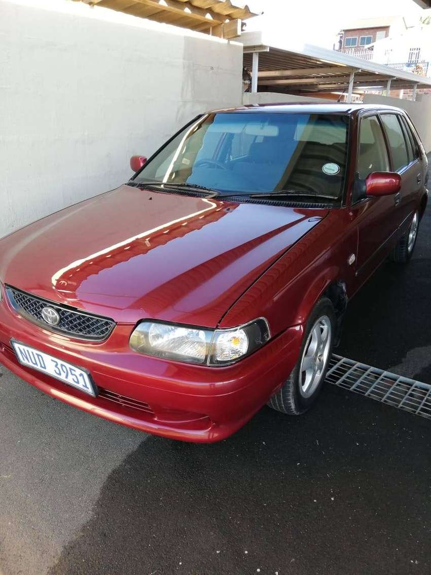 Toyota Tazz 1.3 XE with mags and air con in good condition,fuel econo 0
