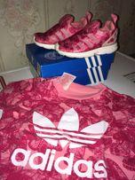 Кроссовки Adidas 22 р. и футболка этой же линейки