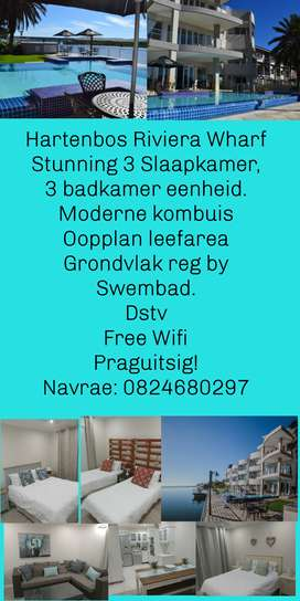 Affordable Stunning Luxury Hartenbos lagoon apartment