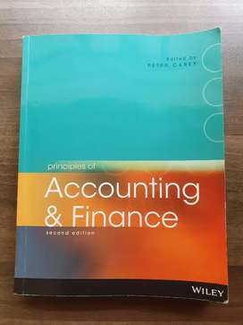 Principles of Accounting and Finance 2nd Edition