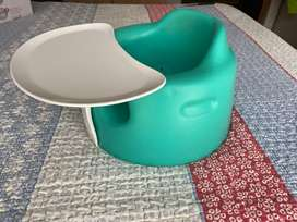 Bumbo floorseat with play tray