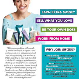 Sell Sh'zen Beauty products from home