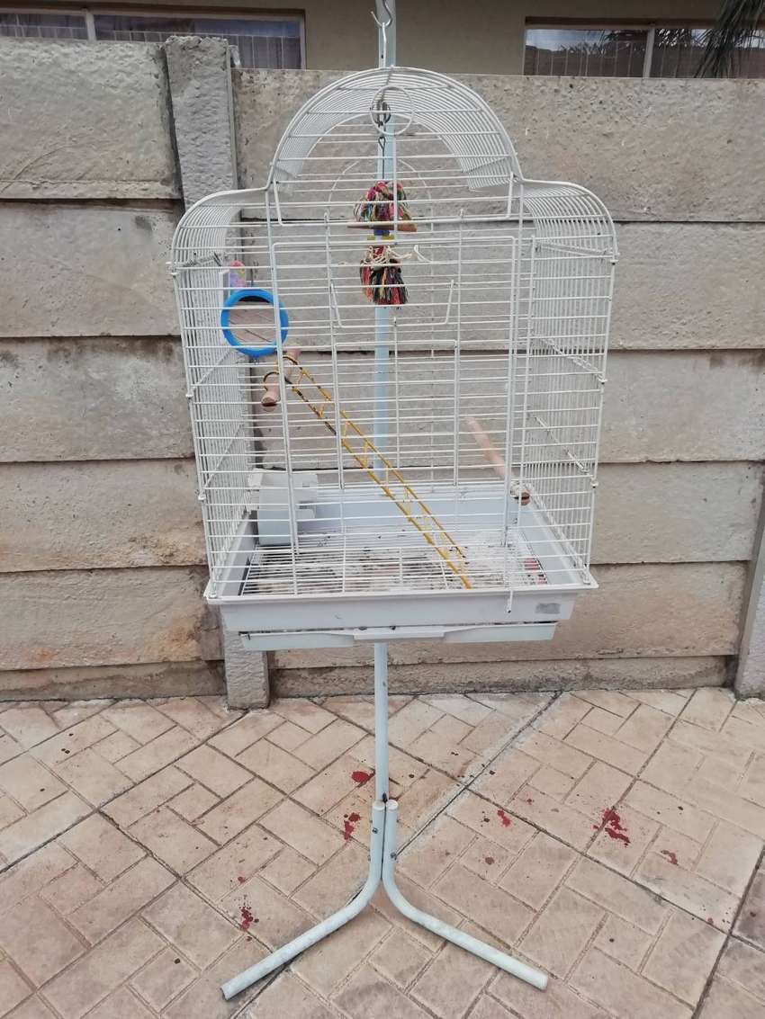 Bird Cage for small Parrots 0