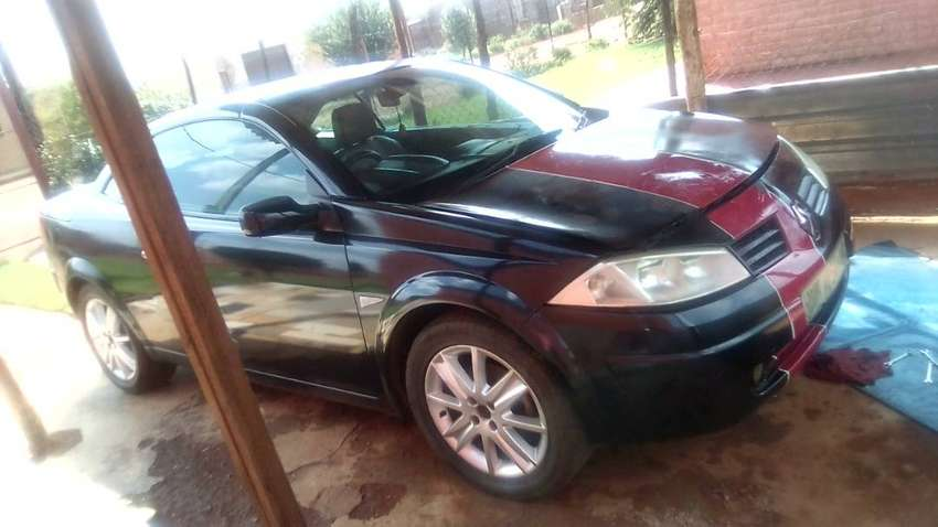 I am selling my Renault Megane convertible car,R43000 Neg 0