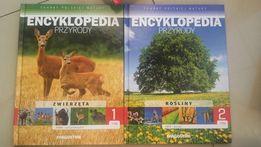 Encyklopedia przyrody i zwierząt dwie książki