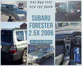 Subaru Forester 2.5X 2006 stripping for spares
