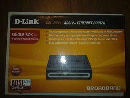 Продам роутер(модем) D-Link DSL-2500U/BRU/D