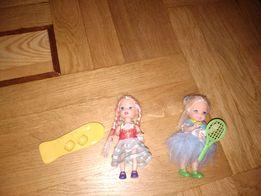 Маленькие куклы с аксессуарами одним лотом