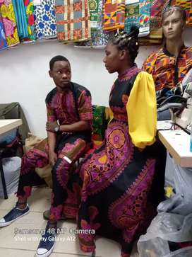 we specialise in women and men clothing .  we also alter clothes