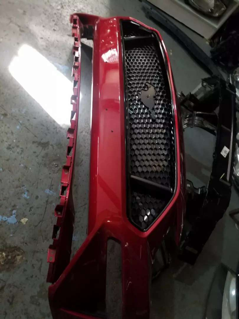 Ford mustang front bumper new shape 0
