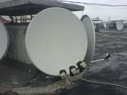Спутниковая антенна, комплект б/у, (есть новый).