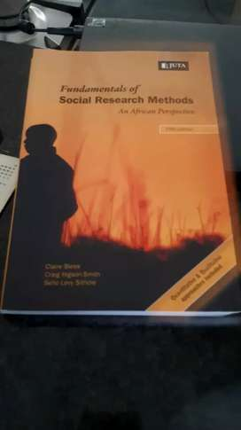 Fundamentals of social research methods