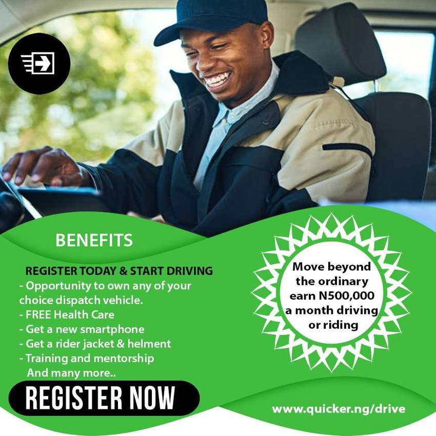 Drivers and Motorcycle riders needed 0