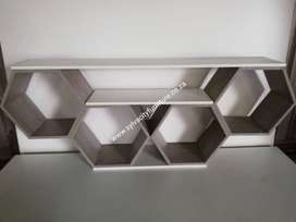 Hexagon Tv units