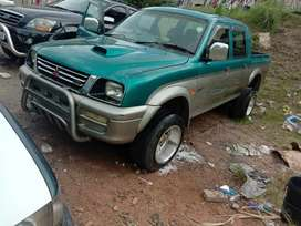Colt double cab with nissan v6 engine