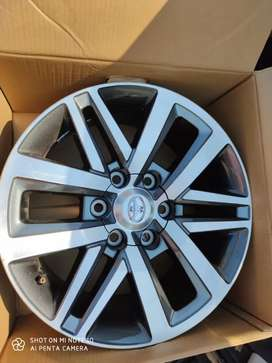 "18"" Toyota Fortuner /Hilux Alloy wheels"