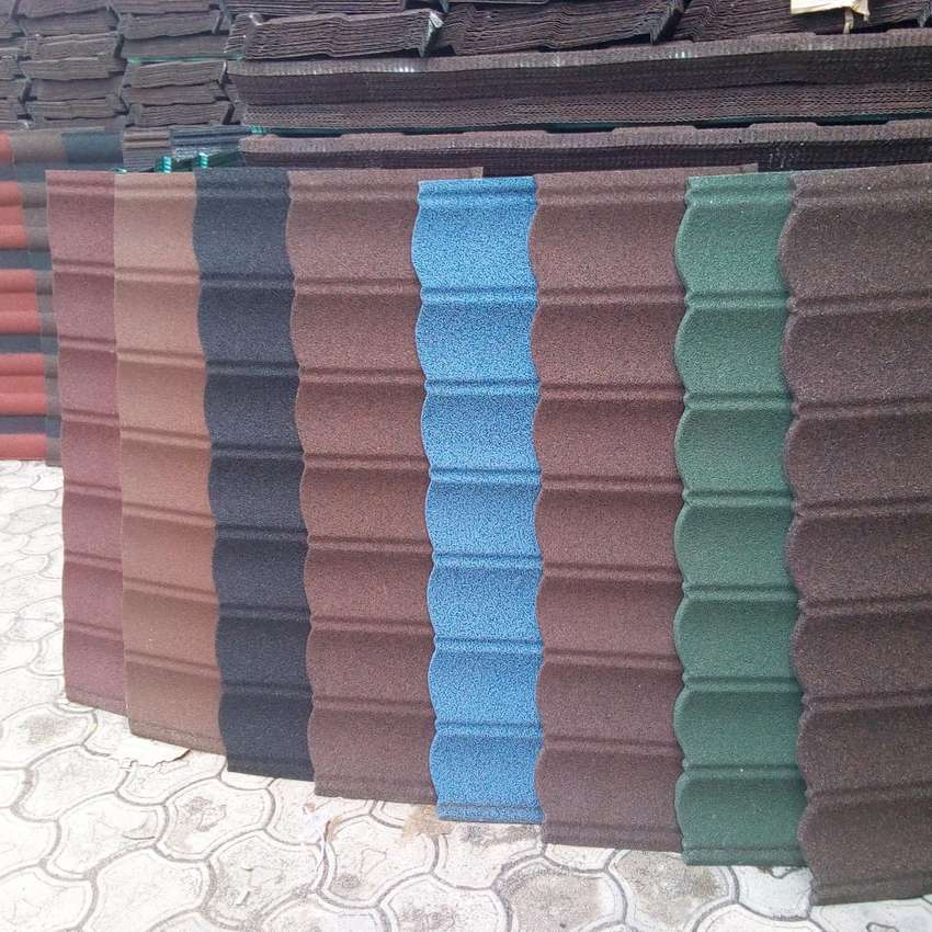 Solid stone coated roofing sheet 0