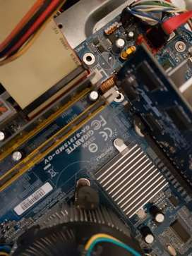 Old motherboard combo R300