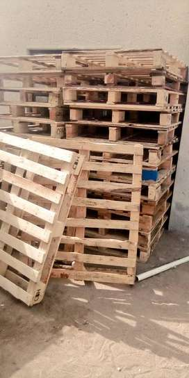 Pallets and Metal Drums