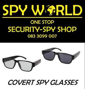 Covert Spy Glasses DVR