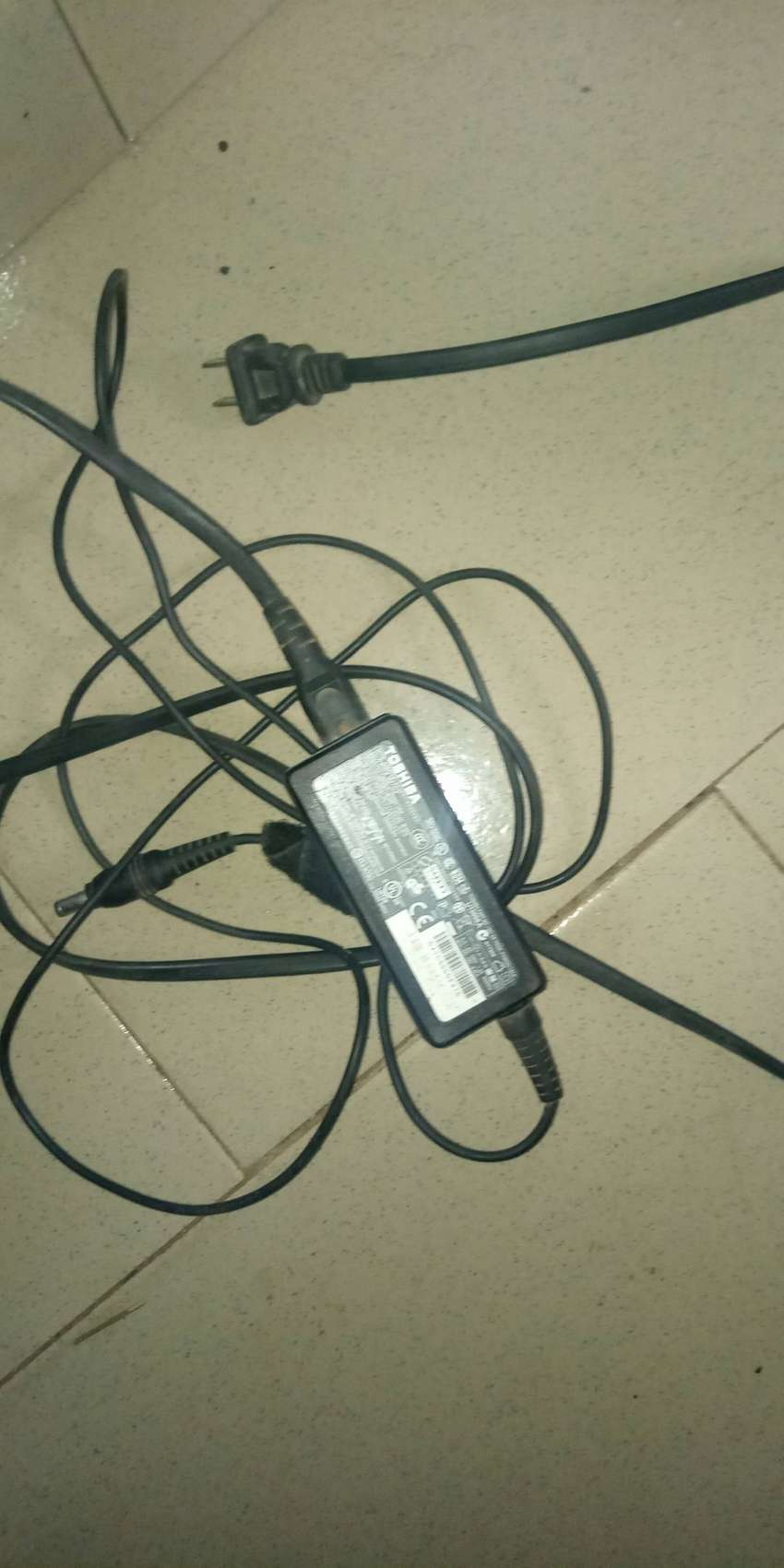 Toshiba laptop charger 0