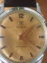 Stara piękna Cyma Swiss made