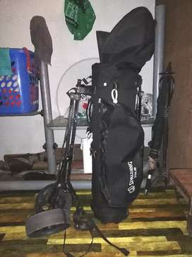 Golf clubs for sale.