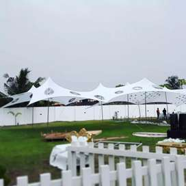 Stretch tents for sale with Poles and Pegs