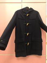 Шерстяное пальто, бушлат Benetton M-L