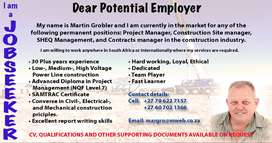 Electrical Construction Site- or Project Manager