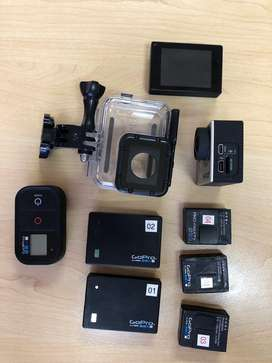GoPro Hero 3+ and lots of accessories