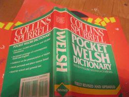 книга словарь Collins spurrell pocket welsh dictionary английский язык