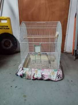Bird cage with cover